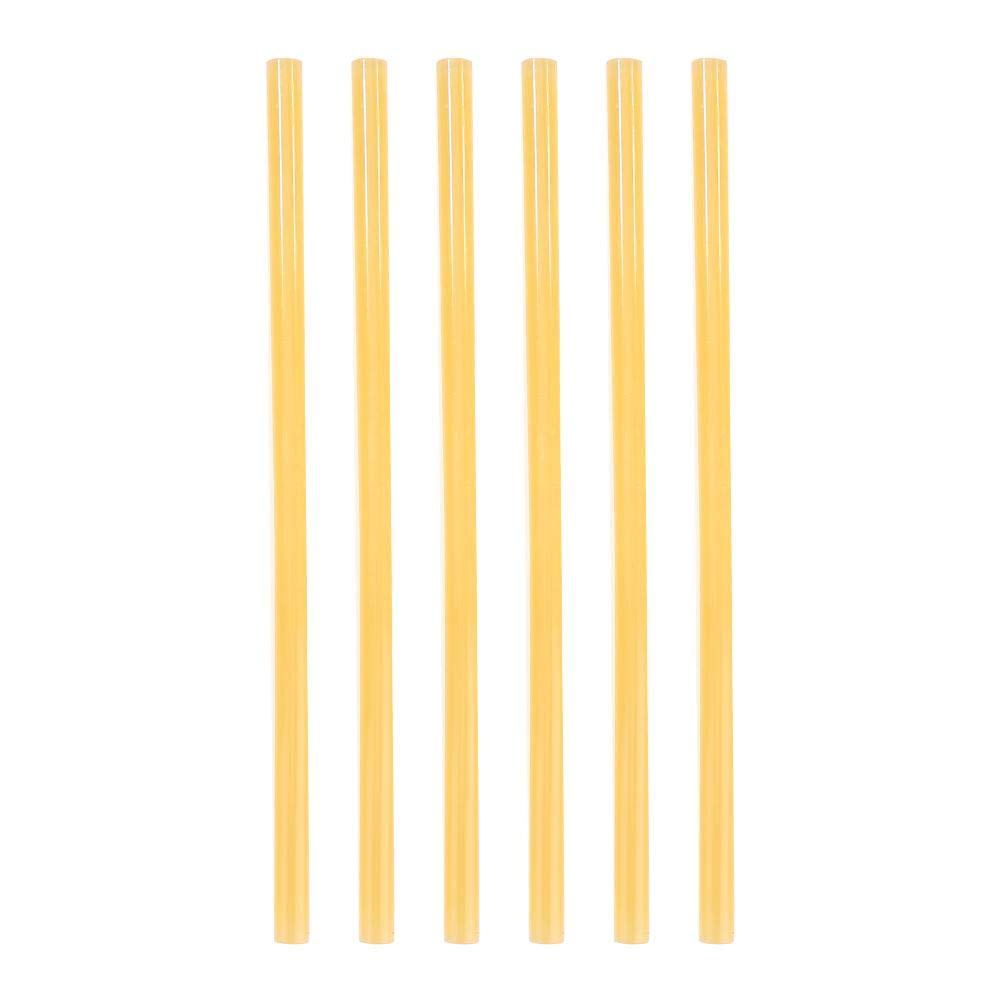 Glue Gun Sticks, Macrorun 1 kg Heavy Duty DIY Hot Melt Glue Sticks All-Purpose Glue Sticks, 10.63'' Long (11mm, Yellow)