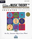 Essentials of Music Theory Software, Version 2. 0, Andrew Surmani and Karen Surmani, 0739000489