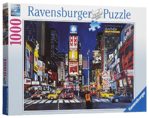 Ravensburger Times Square - 1000 Piece - New Times York Square Shops