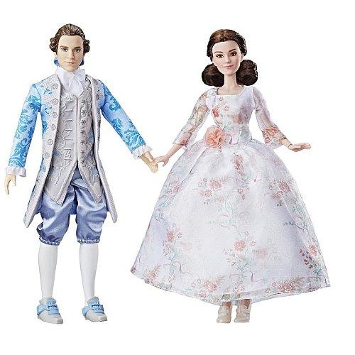 Disney Die Schöne und das Biest - Belle und Prinz 2-tlg. Puppen-Set Hasbro B9216 .