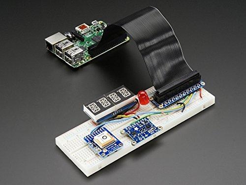 Assembled Pi Cobbler Plus - Breakout Cable for Raspberry Pi B+ (B+ Cobbler Adafruit)