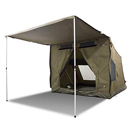 new style 8bb0e 5ae30 Oztent 30 Second Expedition 4-5 Person Tent (45 Lb) 8 ft(W) x 8 ft(D) x  6.6ft(H) + 6.6ft(Awning)