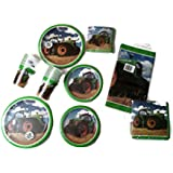 Tractor Time Birthday Party Bundle Plates Napkins Cups Party Kit for 16