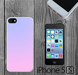Pastel Color Combination Custom made Case/Cover/skin FOR iPhone 5/5s - White - Rubber Case ( Ship From CA)