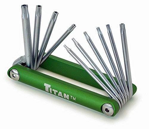 Titan 12710 Tamper Proof Star Key Set (T8 Tamper)