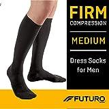 Futuro - MI71035BLEN Dress Socks for Men, Firm