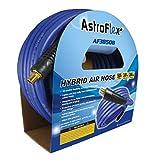 Astro Pneumatic Tool Company AF3850B Astroflex Hybrid Air Hose, 3/8-Inch x 50-Feet, Blue