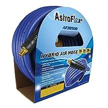"""Astro AF3850B Astroflex Hybrid Air Hose, 3/8"""" x 50', Blue"""
