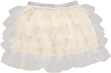 Innerternet-Falda de niña, 18 Meses-6 años niñas de Color sólido ...