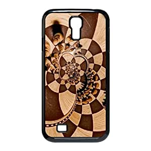 Chess Manipulation Psychedelic Trippy Chess Board Samsung Galaxy S4 9500 Cell Phone Case Black gift zhm004-9250171