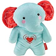 Fisher-Price Calming Vibrations Cuddle Soother, Blue Elephant