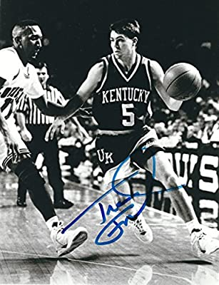 Autographed Travis Ford 8x10 Kentucky Wildcats Photo