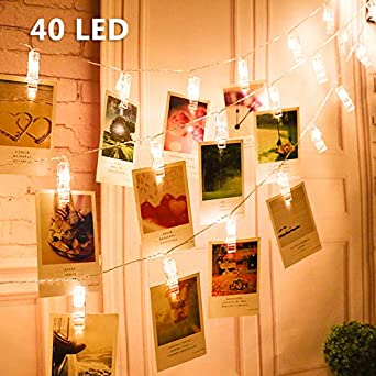 Led Foto Clips Lichterketten Vegena Led Fotolichterkette