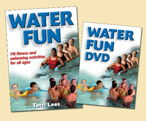 Water Fun Book/DVD Package:Fitness & Swimming Activities All Ages