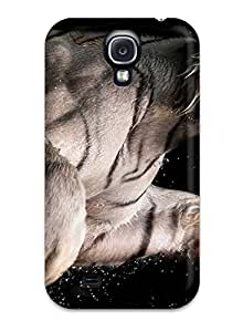 Defender Case With Nice Appearance (white Bengal Tiger ) For Galaxy S4