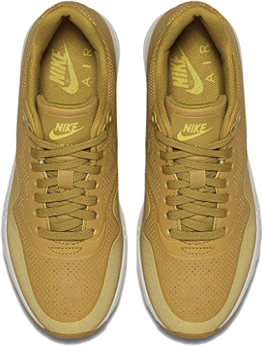 Nike Dames Air Max 1 Ultra Essentiële Hardloopschoen Dark Citron / Dark Citron / Bright Citron