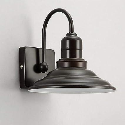 Home Retro Nanih Allée Chevet Miroir Chambre Lampe De American eYb9W2IEDH