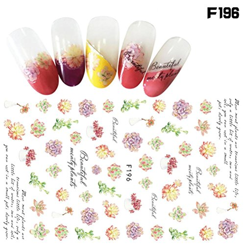 (Elaco 1Pcs Women Nail Art Nial Sticker Halloween Designs Girl Beauty Nail Tools)
