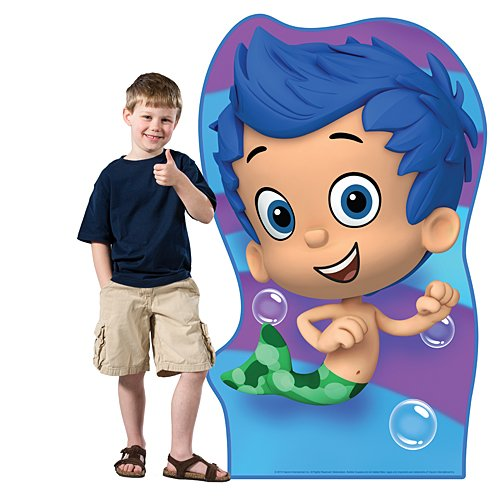 4 ft. 9 in. Bubble Guppies Gil Standee Standup Photo Booth Prop Background Backdrop Party Decoration Decor Scene Setter Cardboard Cutout -