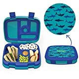 Best Bento Box For Kids - Bentgo Kids Prints (Sharks) - Leak-Proof, 5-Compartment Bento-Style Review