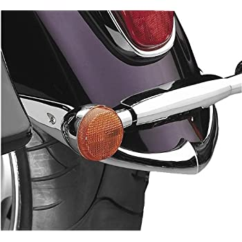 National Cycle Rear Chrome Fender Tips for 2006-2011 Kawasaki VN900B Vulcan Cla