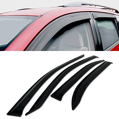 VXMOTOR Rain/Wind Guard Vent Shade Deflector Window Visors 4P 2003-2008 Toyota Corolla 4 Door