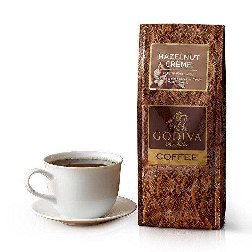 Godiva 05074 Hazelnut Creme Arabic Ground Coffee