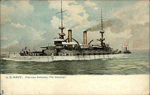 (U.S. Navy, First-class Battleship The Kearsarge Battleships Original Vintage Postcard)