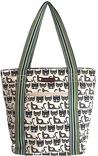 - Bungalow 360 Striped Tote (Cat)