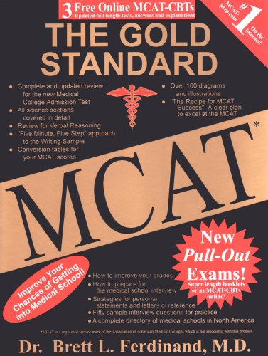 The Gold Standard MCAT with Online Practice MCAT CBTs (The Gold Standard MCAT)