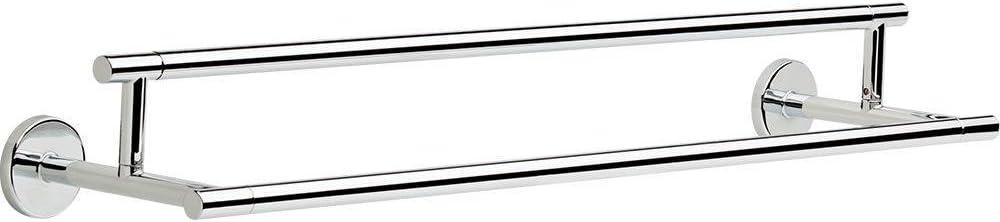 "Delta Faucet 75925, 24"" Double Towel Bar, Polished Chrome"