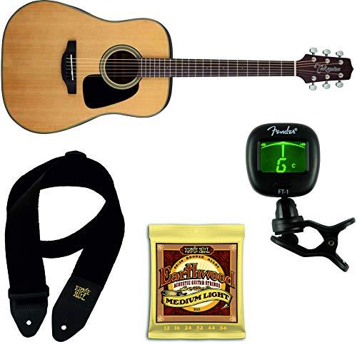 TAKAMINE GD10NS Guitarra Acustica + Juego Cuerdas y Correa Ernie ...
