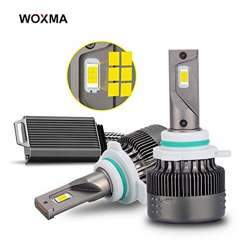 9012 LED Headlight Bulbs Conversion Kit, Advanced Flip Chips/Adjustable Beam-70W 8000LM 6500K-Hi/Lo Beam/Fog Light Bulbs- 1 Year Warranty