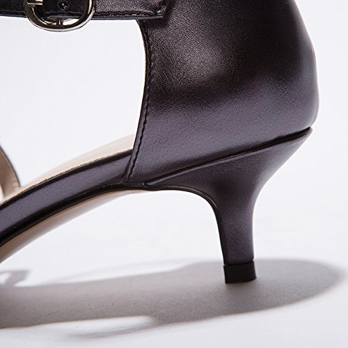 Heel Wedding Pointed Black Count Shoes Pumps Dress Women's Rhinestone Kitten SaraIris Party Sqx8EwO1F