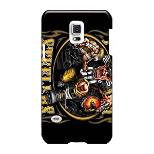 Samsung Galaxy S5 Mini CHq9996ENCb Custom Vivid Pittsburgh Steelers Pattern Excellent Hard Cell-phone Cases -LisaSwinburnson