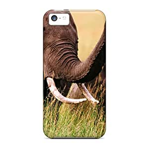 High Impact Dirt/shock Proof Case Cover For Iphone 5c (asian Elephants)