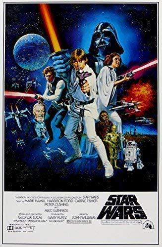 Star Wars Retro ciencia ficción Cartel De Película 1 ...