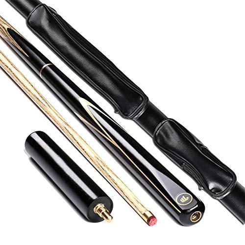 Insun ASH ハードウッドスヌーカーキュー3/4ジョイント 9.7mm 19オンス ティップ プールキュー 57インチ プールキュー ケースセット ASH SD20 Set