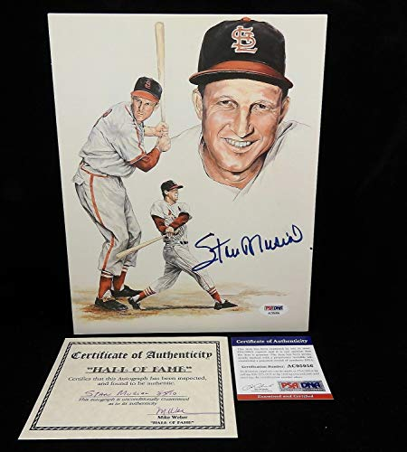 Stan Musial Signed Photo - Stan Musial Autographed Signed 8x10 Photo Memorabilia PSA/DNA