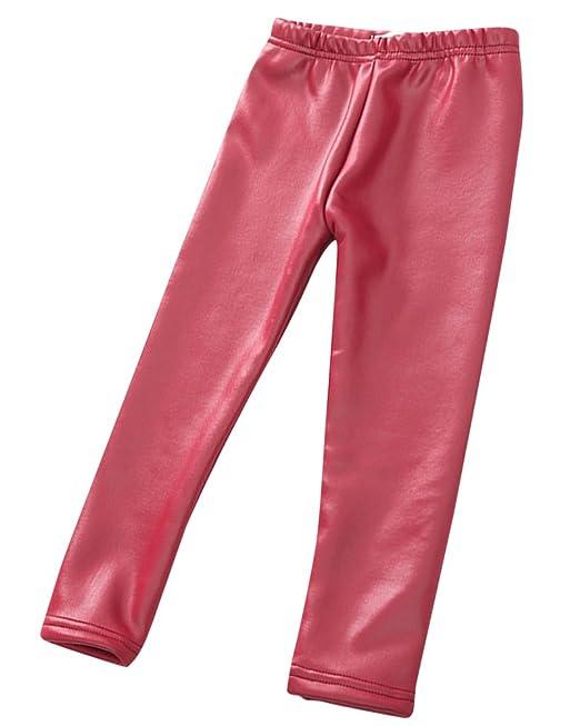 prezzo economico vari colori prezzo economico ZhuiKun Bambini Ragazze Pantaloni di Pelle Artificiale Stretch ...