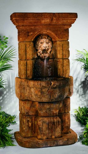 Henri Studios Fountains - Henri Studios-Linari Lion Fountain-5227AF