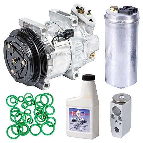 AC Compressor w/A/C Repair Kit For Infiniti Qx4 & Nissan Pathfinder 2001 2002 - BuyAutoParts 60-80240RK New (Nissan Pathfinder A/c Compressor)