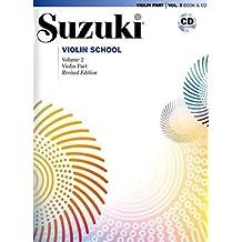 Suzuki Violin School, Vol 2: Violin Part, Book and CD by Shinichi Suzuki (2007-10-01)