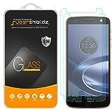 [2-Pack] Supershieldz for Motorola Moto Z Force Droid Tempered Glass Screen Protector, Anti-Scratch, Anti-Fingerprint, Lifetime Replacement Warranty