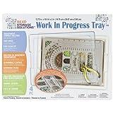 Darice Elizabeth Ward Bead Storage Work in Progress Tray 13.75 X10.5 X2 Inches (12 Pack)