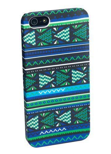 PEDEA Tribal Hülle für Apple iPhone 5S/5 grün