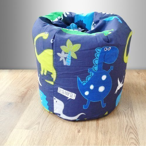 Ready Steady Bed Childrens Filled Bean Bag Dinosaurs In the Dark