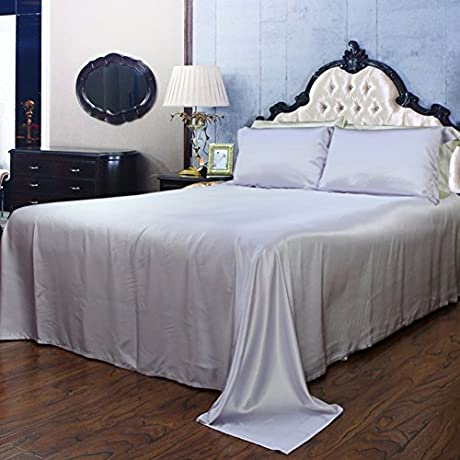 Pure Silk Bed Linen Thick Seamless Silk Bed Mikasa N 140x200cm 55x79inch