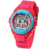 Digital Quartz Outdoor Waterproof Alarm Girls Watch Chronograph
