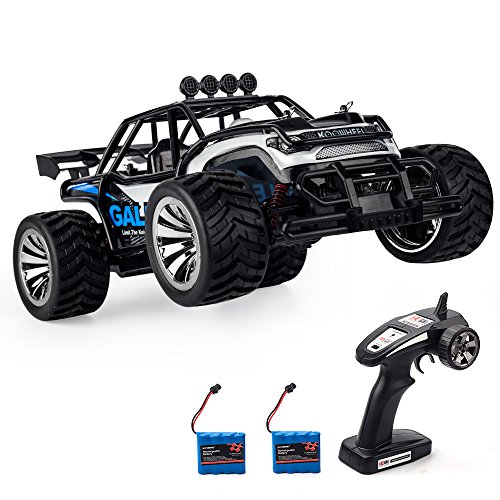 KOOWHEEL RC Car 1:16 Scale Jeep High Speed Buggy Rock Crawler Remote Control Race Cars Fast 2.4GHz RC Monster Truck With 2 Rechargeable Battery